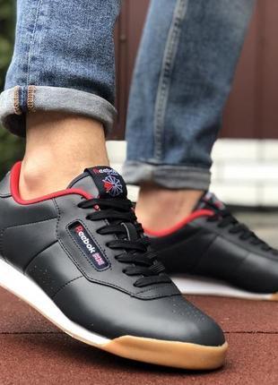 Кросівки reebok classic темно сині
