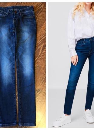 Оригинальные синие джинсы