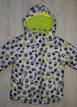 Теплая зимняя термо куртка kiki&koko 104
