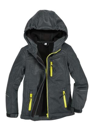 Куртка для мальчика softshell active touch  140, 152 вітрівка ветровка