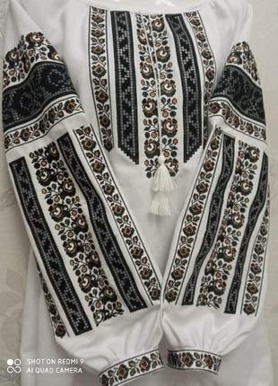 Вышиванка рубашка вышитая вишиванка сорочка вишита