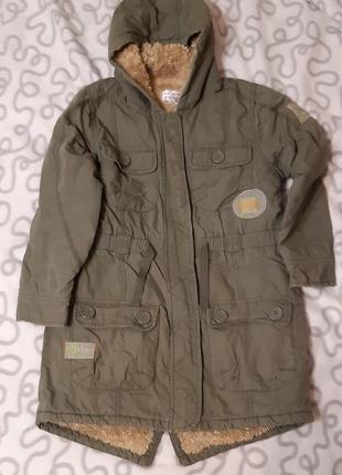 Парка куртка пальто на девочку