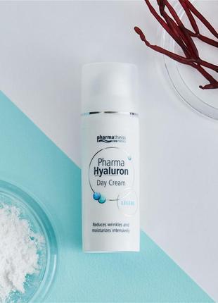 Гиалуроновый дневной крем для лица pharma hyaluron pharmatheiss