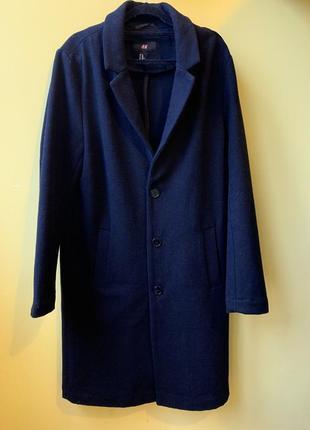 Мужское пальто h&m