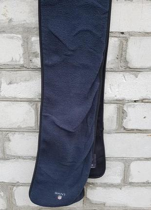 Шарф флисовый gant