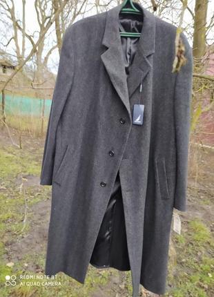Пальто шерстяное плащ шерстяний