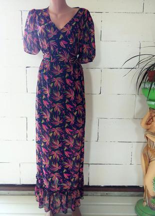 Длинный сарафан платье в пол