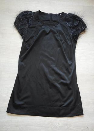 Эфектное  вечернее платье-туника