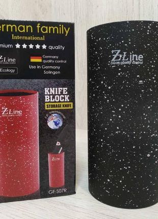 Колода подставка для ножей zline gf-s07 gf-s08b
