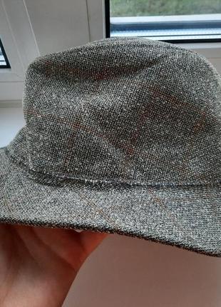 Шерстяная винтажная  шляпа gore tex wegener