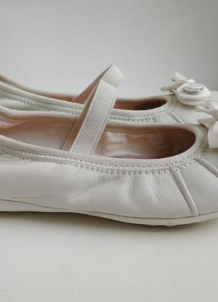Кожаные балетки geox р.34