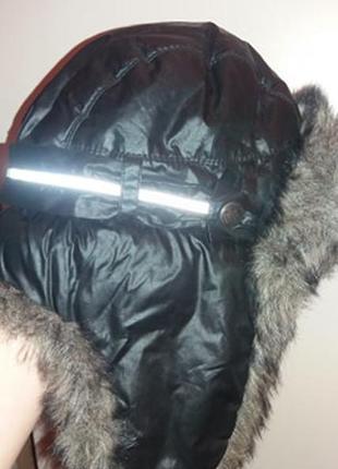 Зимняя шапка-ушанка