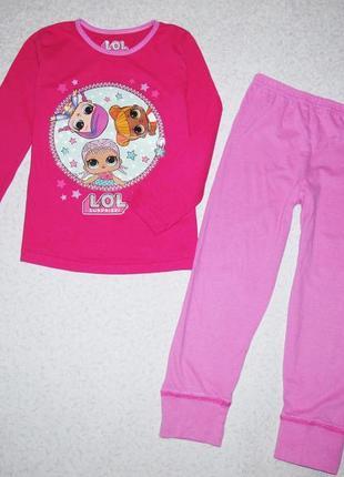 Пижамка на девочку 7-8лет