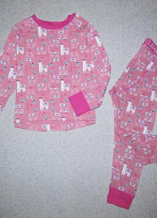 Пижамка на девочку 4-5лет