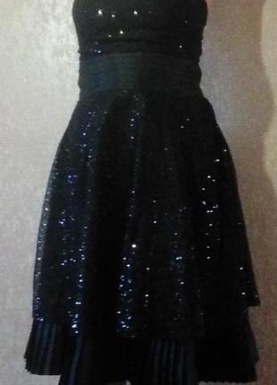 Роскошное вечернее  платье next