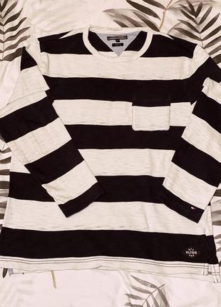 Пуловер, кофта, томми хилфигер, tommy hilfiger, джемпер, полосатый джемпер, мужская кофта