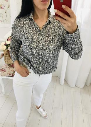 Marc o polo 100% органический хлопок рубашка блузка сорочка