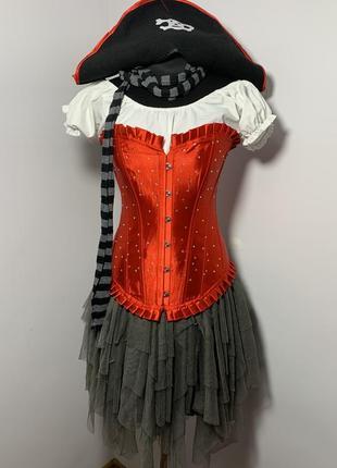 Пиратка 42 костюм карнавальный