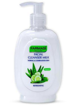 Молочко для снятия макияжа (огурец)для нормальной  кожи, 280 мл от фармаси