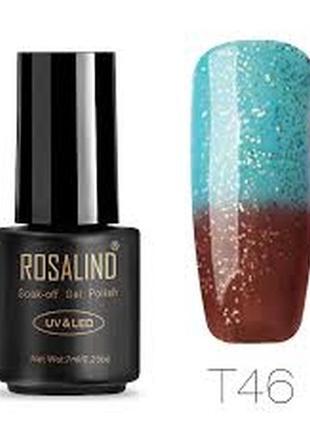 Термо гель лак для ногтей rosalind
