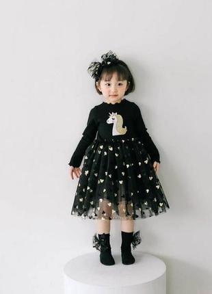 Стильное чёрное платье 😍