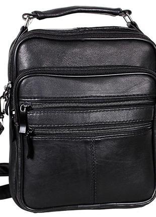 Мужская сумка через плечо из кожи, мужские сумки