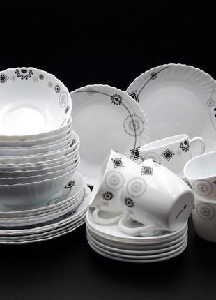 Набор столовий тарілки
