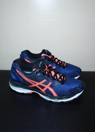 Оригинал asics gel nimbus 18 t650n женские кроссовки для бега