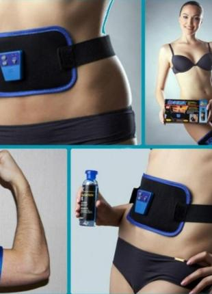 Массажёр миостимулятор пояс для похудения