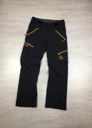 Фирменные мужские штаны norrona 0221-09 svalbard flex1 softshel arcteryx mammut marmot