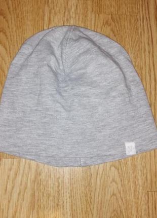 Шапочка демесезоная шапка на девочку демесезоная котон