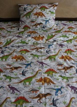 Постільна білизна динозаври