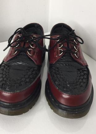 Винтажные туфли dr martens original оригинальные мартинсы лоферы