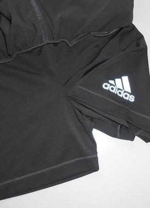 Спортивные двойные шорты adidas 11-12 лет,можно на хс