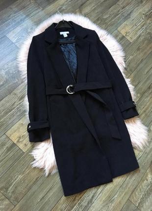Стильное пальто со сьемным поясом