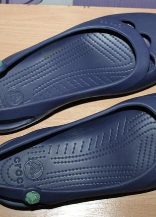 Балетки босоножки crocs кроксы w11 разм 42 по стельке 27.2 см