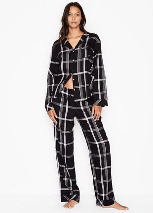Фланелевая пижама victoria's secret
