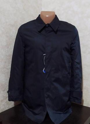 Итальянский утеплённый плащ куртка пальто dry&co, s, италия