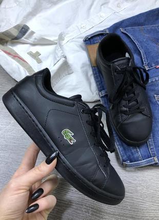 Базовые кроссовки lacoste