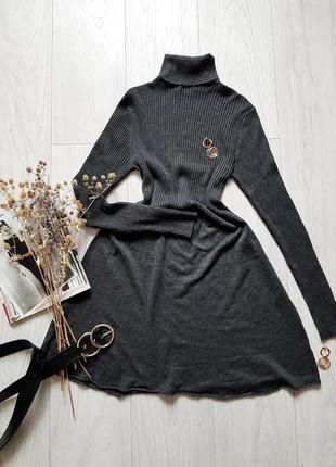 Базова тепла сукня у рубчик only