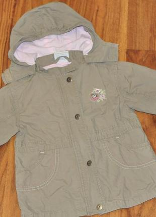 Парка курточка весенняя topolino на девочку 98 см