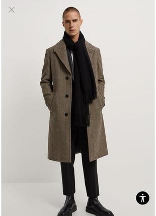 Текстурное пальто zara