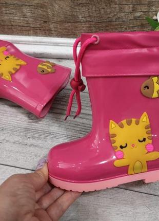 Яркие  сапожки для девочки
