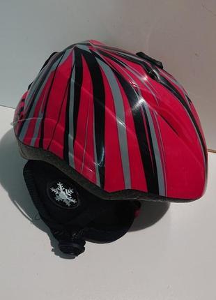 Фирменный горнолыжный шлем из германии.