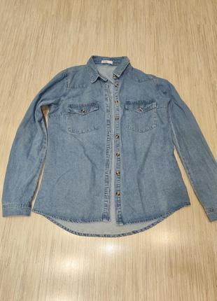 Рубашка,джинсовая рубашка