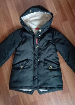 Стильная куртка-парка для девочки