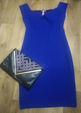 Платье 👗 обтягивающие синее !!!💥🌺