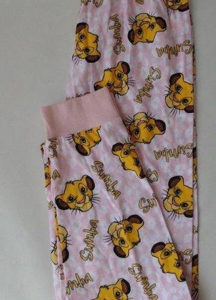 Тонкие пижамные штаны primark 4-5