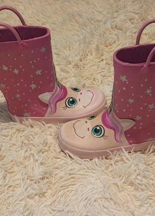 Резиновые сапоги сапожки ботинки