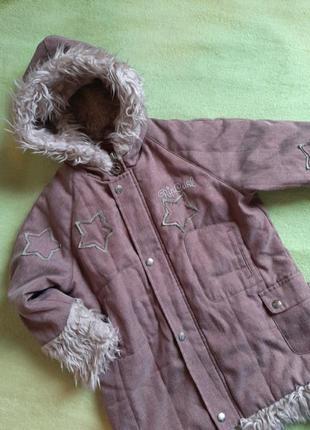 Парка, пальто курточка 116см